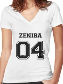Spirited Away - Zeniba Varsity Women's Fitted V-Neck T-Shirt