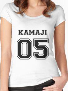 Spirited Away - Kamaji Varsity Women's Fitted Scoop T-Shirt