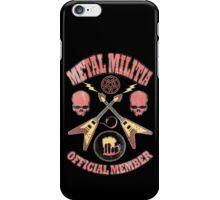 Metal Militia Vintage iPhone Case/Skin
