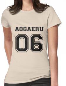 Spirited Away - Aogaeru Varsity Womens Fitted T-Shirt
