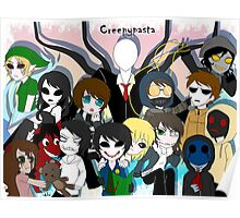 CreepyPasta Group Poster
