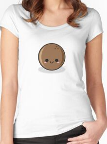 Cute coconut Women's Fitted Scoop T-Shirt