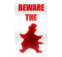 Beware the Penguin Poster