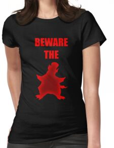 Beware the Penguin Womens Fitted T-Shirt