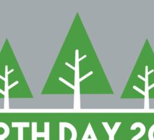 Earth Day 2016 Sticker