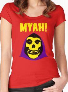 Skeletor-Misfits Composite Women's Fitted Scoop T-Shirt