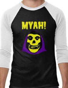 Skeletor-Misfits Composite Men's Baseball ¾ T-Shirt
