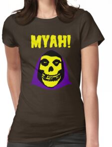 Skeletor-Misfits Composite Womens Fitted T-Shirt