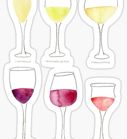 Wine Collection Sticker