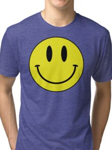 Smiley Tri-blend T-Shirt