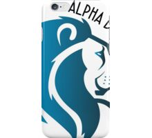 Alpha Delta Pi Lion iPhone Case/Skin
