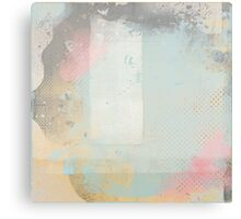 artified blue with accents Canvas Print