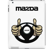 Mazda Eternal Flame Logo Black iPad Case/Skin
