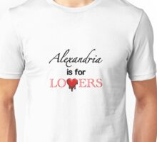 "The Walking Dead - ""Alexandria Is For Lovers"" Comic Style Unisex T-Shirt"