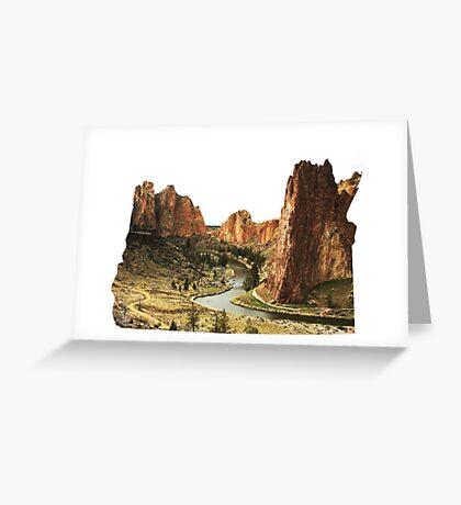 OR- Smith Rocks Greeting Card