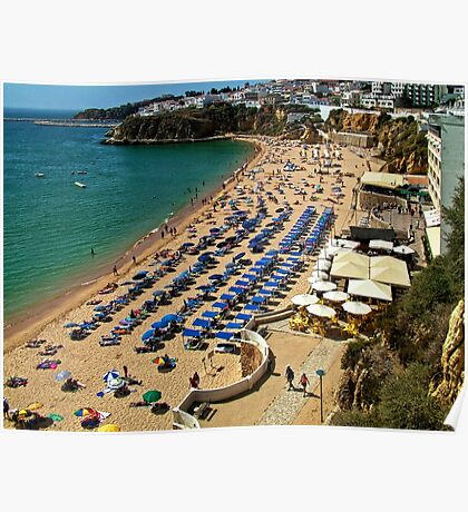 Albufeira Beach (west end) Poster