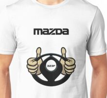 Mazda Eternal Flame Logo Black Unisex T-Shirt