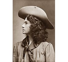 Annie Oakley - Little Sure Shot Photographic Print