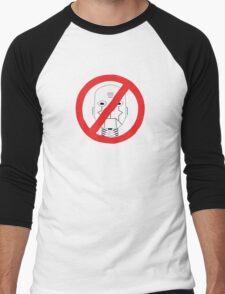 Robots Outlawed Men's Baseball ¾ T-Shirt