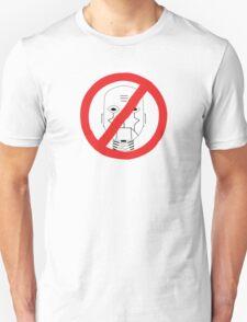 Robots Outlawed Unisex T-Shirt