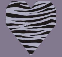 0495 Pale Lavender Tiger Kids Tee