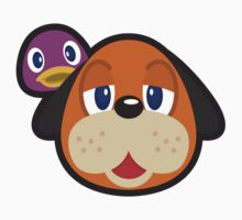 DUCK HUNT DUO ANIMAL CROSSING Baby Tee