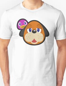 DUCK HUNT DUO ANIMAL CROSSING Unisex T-Shirt