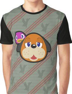 DUCK HUNT DUO ANIMAL CROSSING Graphic T-Shirt