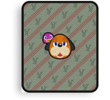DUCK HUNT DUO ANIMAL CROSSING Canvas Print
