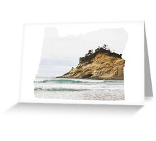 OR- Pacific City Greeting Card