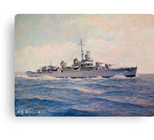 USS Halsey Powell Canvas Print