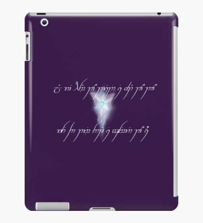 Evenstar iPad Case/Skin