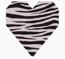 0497 Pale Pink Tiger Kids Tee