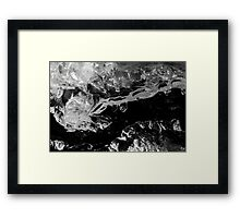 Ice Imagination Framed Print