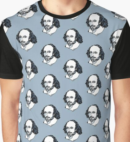 William Shakespeare : The Bard Graphic T-Shirt