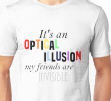 Optical Illusion Unisex T-Shirt