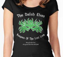 Dalish Elves v2 Women's Fitted Scoop T-Shirt
