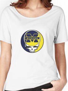 University of Michigan Grateful Dead Women's Relaxed Fit T-Shirt
