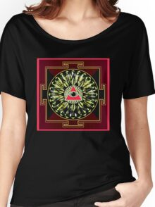 PINK EYE YANTRA 23 Women's Relaxed Fit T-Shirt