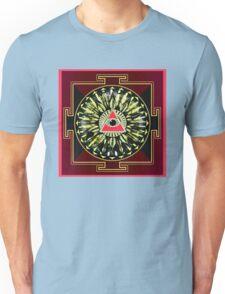 PINK EYE YANTRA 23 Unisex T-Shirt