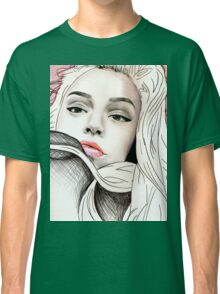 Maggie Lindemann Drawing / art pencil Classic T-Shirt