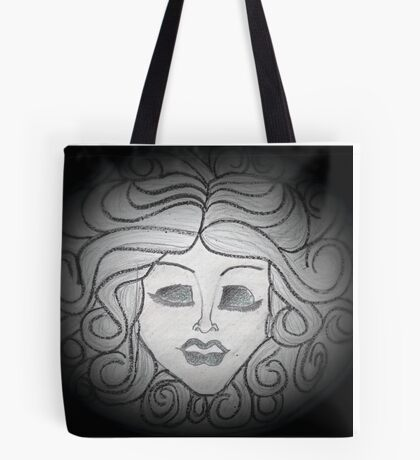 Madame Leota (Haunted Mansion Drawing) Tote Bag