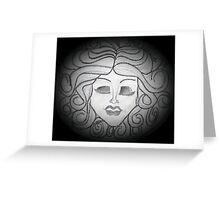 Madame Leota (Haunted Mansion Drawing) Greeting Card