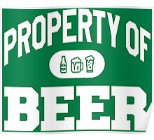 Property Of BEER Poster