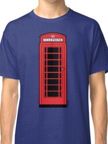 British Red Phone Box Classic T-Shirt