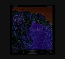 USGS TOPO Map Hawaii HI Haiku 349235 1957 24000 Inverted Unisex T-Shirt
