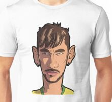 Neymar Caricature #10 Unisex T-Shirt
