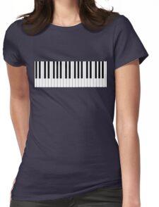 Piano Man Womens T-Shirt Womens Fitted T-Shirt