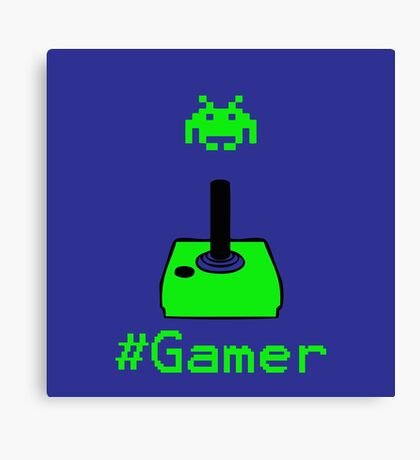 Contaminated Gamer Collection -- #Gamer Canvas Print