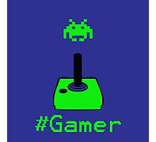 Contaminated Gamer Collection -- #Gamer Photographic Print